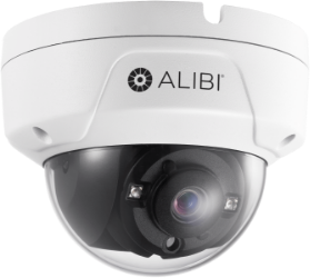 alibi security dome camera